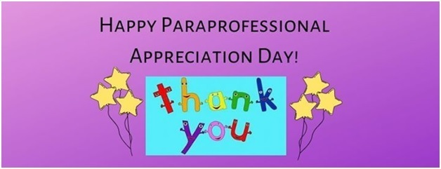Paraprofessional Appreciation Day!