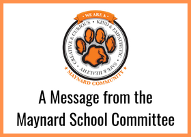 Green Meadow Building Update from the Maynard School Committee