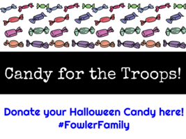 Donate Halloween Candy for the Troops!