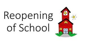 Parent Meeting for ReOpening Questions