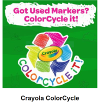 Recycle Markers~ Reduce Plastic Waste