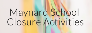 School Closure Activities Website
