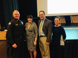 District Attorney Ryan Visits Maynard High School