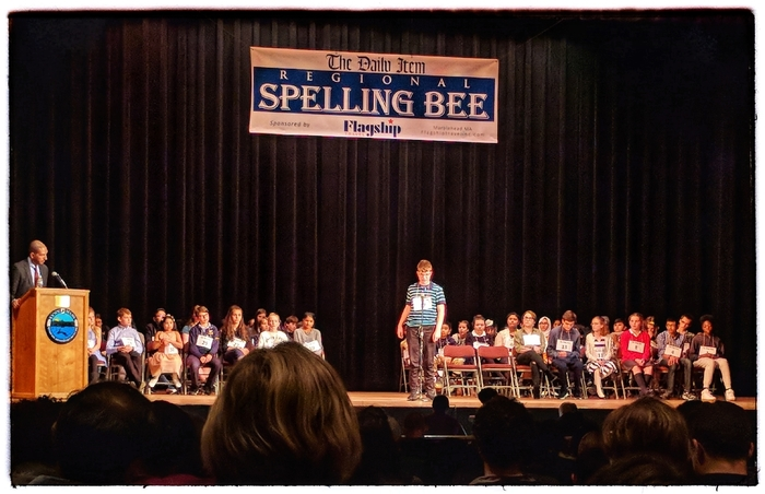 Spelling Bee action