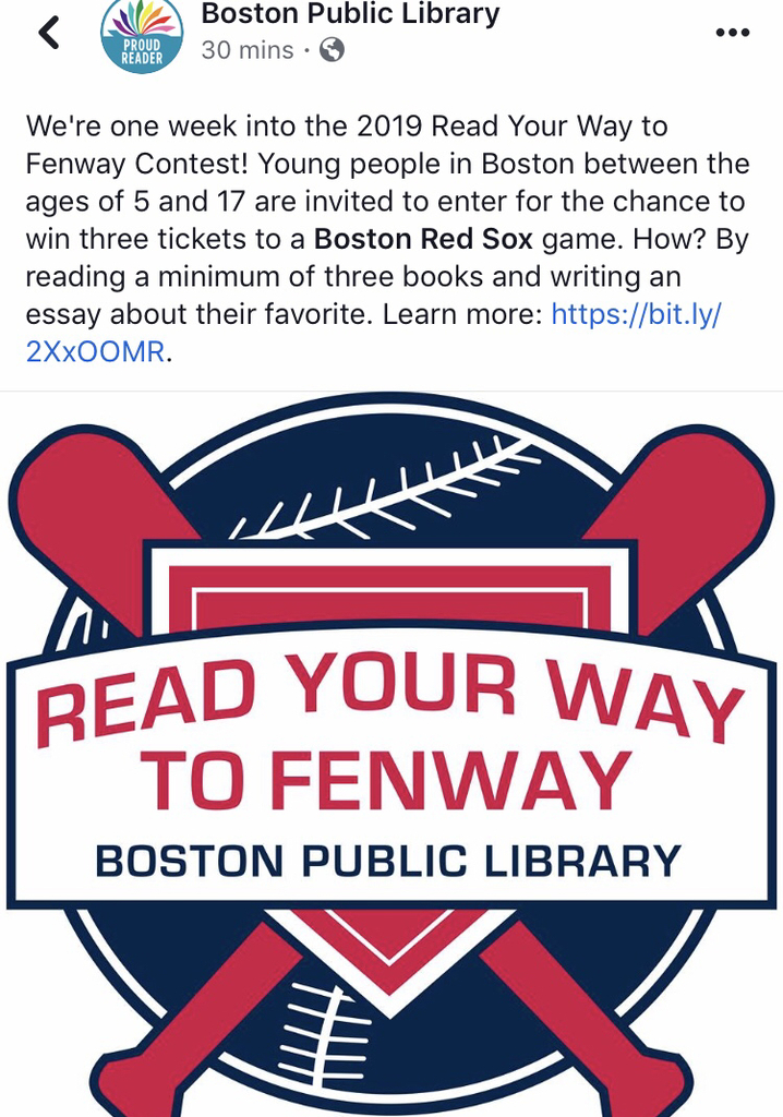 Read your way to Fenway!